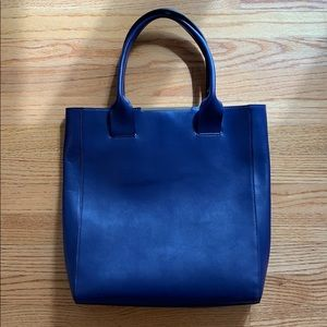Purple BCBGMaxAzria tote bag